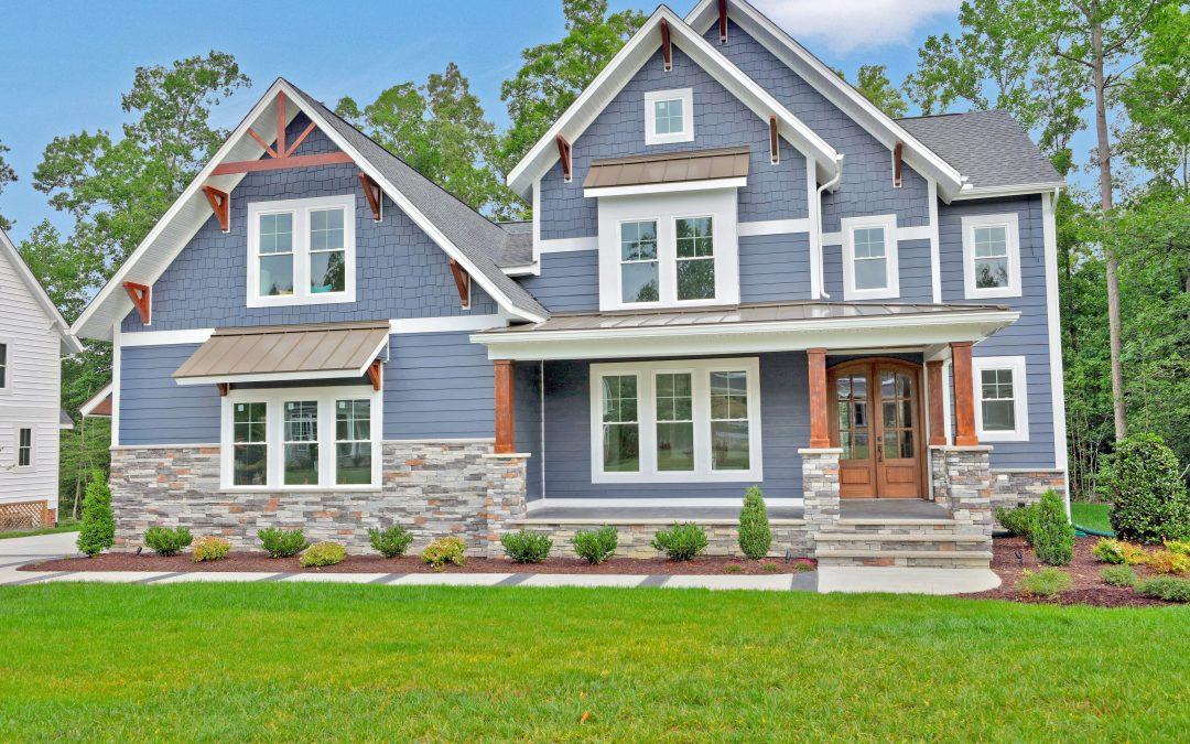 Jones Homes Model NewMarket Estates Rountrey